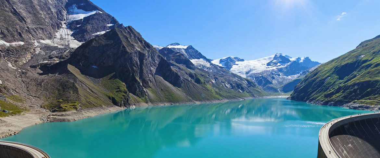Hochgebirgsstausee Kaprun - Ausflugsziel im Salzburger Land