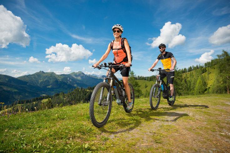 Mountainbiken - Sommerurlaub in Großarl, Salzburger Land
