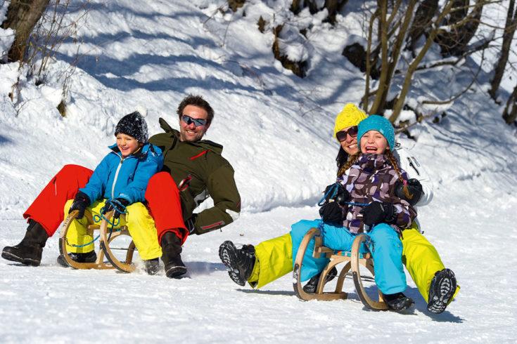 Rodeln - Winterurlaub in Großarl, Ski amadé