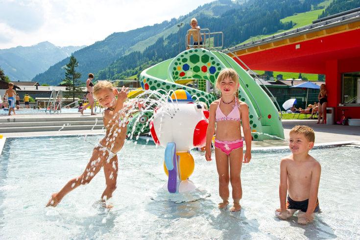 Schwimmbad - Sommerurlaub in Großarl, Salzburger Land