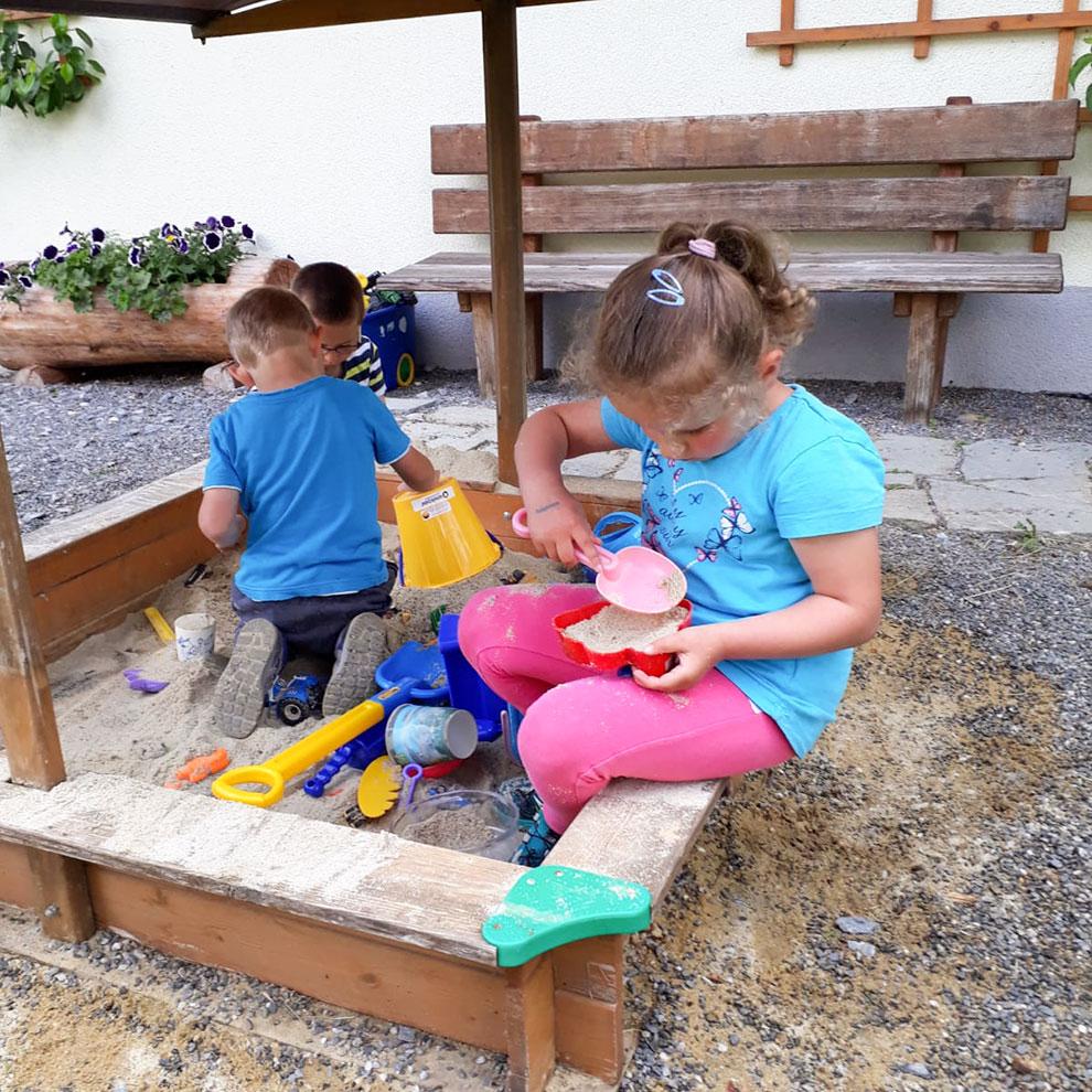 Sandkiste - Urlaub am Bauernhof im Großarltal